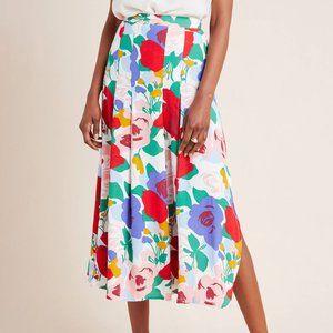 Faithfull Ava Pleated Midi Skirt